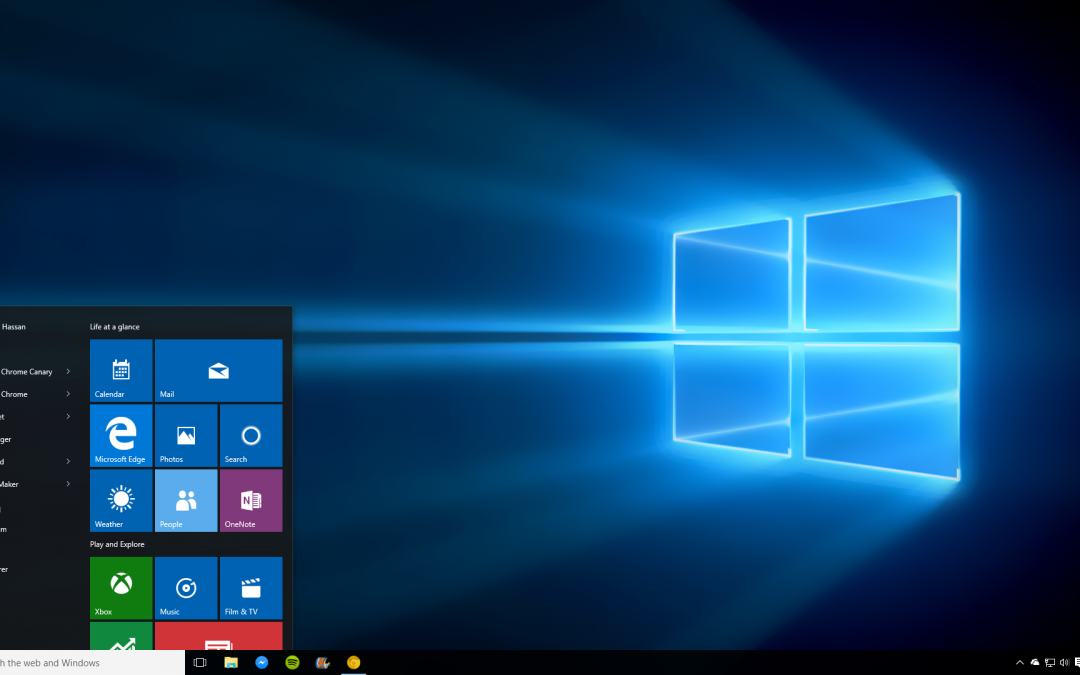 My Incredibly Brief Windows 10 Review